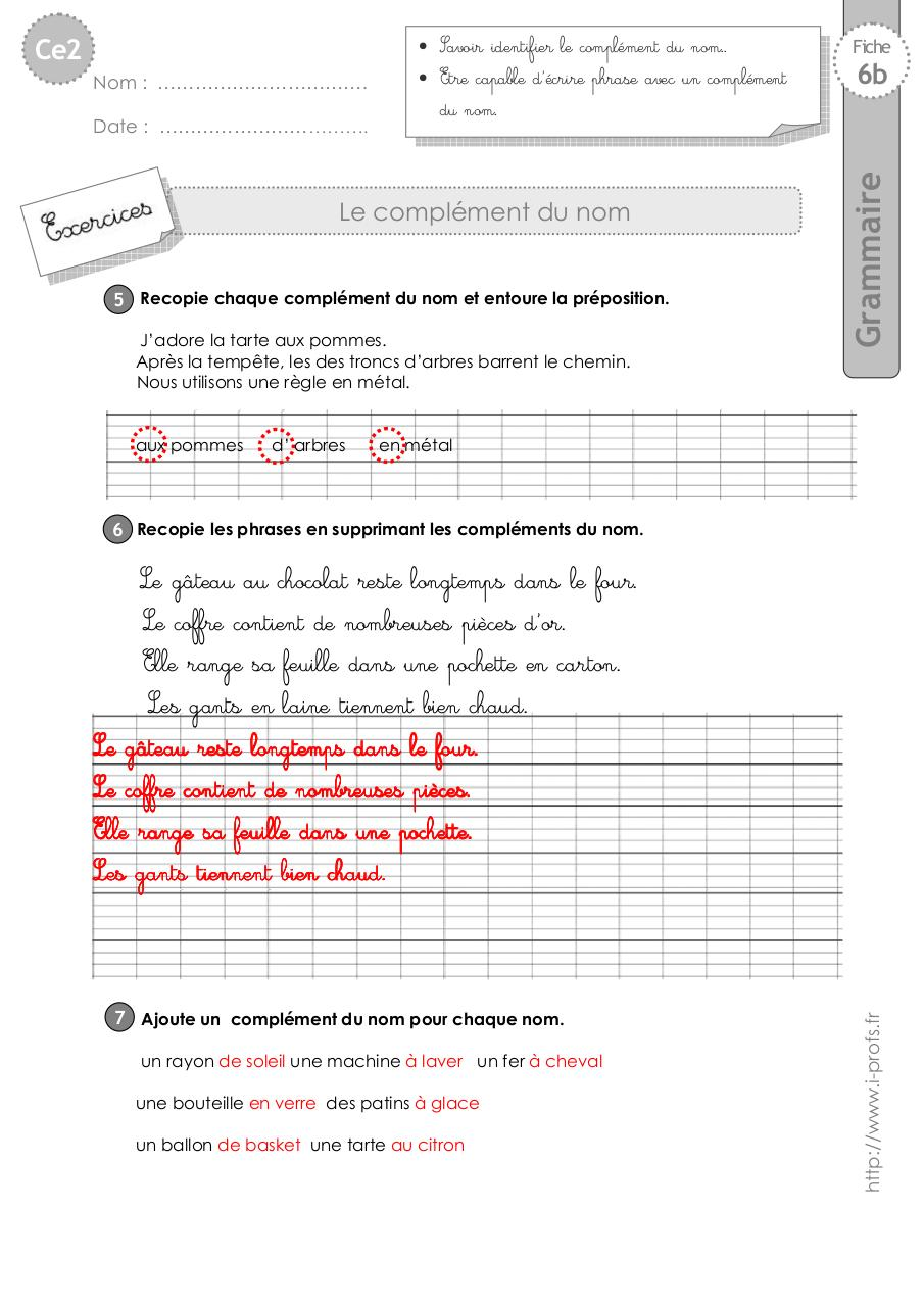ce2-exercices-complement-nom.pdf - page 4/4
